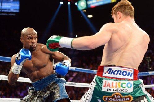 Boxing: Floyd Mayweather vs Canelo Alvarez